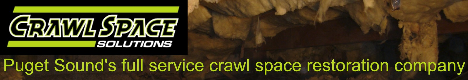 Crawlspace Services - Gig Harbor & Puget Sound crawl space restoration company